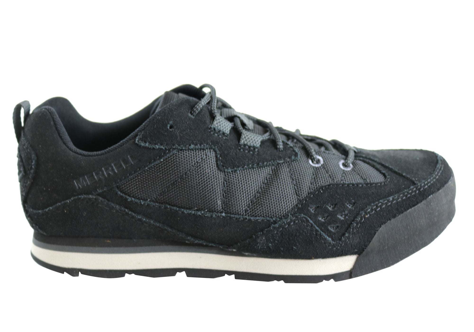 8a2024ccc8 Merrell Burnt Rock Tura Rugged Casual Mens Comfortable Lace Up Shoes ...