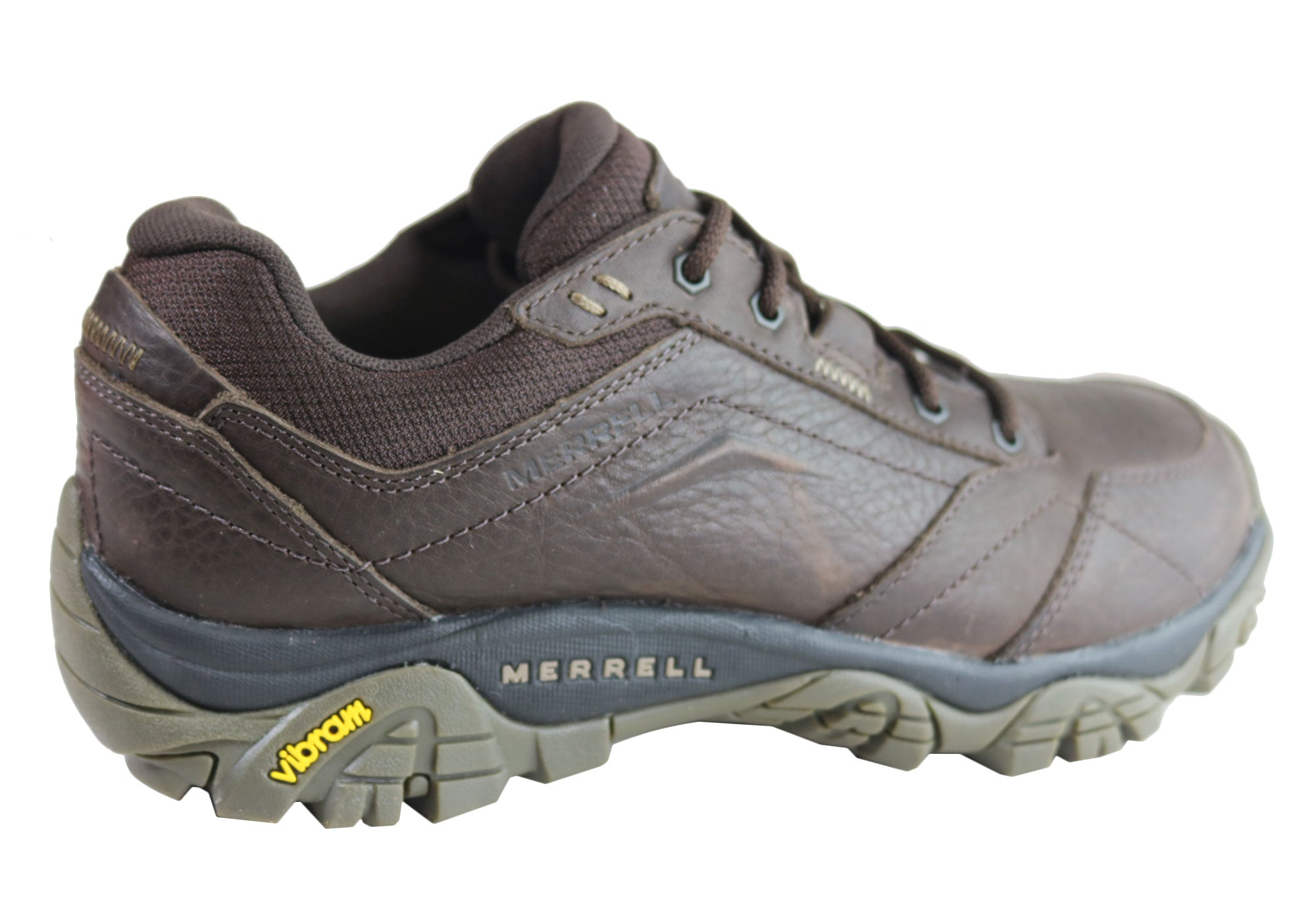 Merrell Mens Moab Adventure Luna Comfortable Leather Lace Up Shoes
