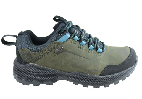 Merrell Forestbound Leather Waterproof Comfort Womens Hiking Shoes