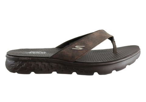 Skechers On The Go 400 Visita Mens Comfortable Thongs Flip Flops