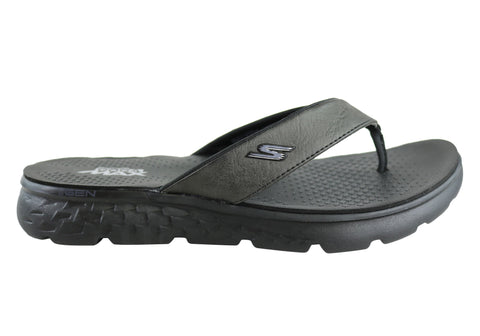 Skechers On The Go 400 Vista Mens Comfortable Thongs Flip Flops