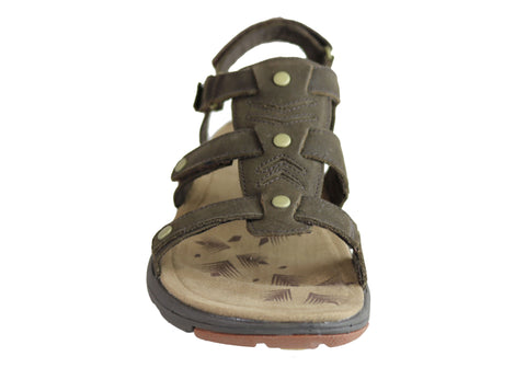384e4574e11 Merrell Womens Comfort Flat Supportive Adhera Three Strap II Sandals ...