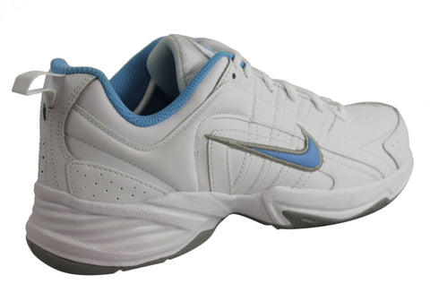 Nike T Lite VIII Leather Womens Lace Up Sport Shoes   Brand