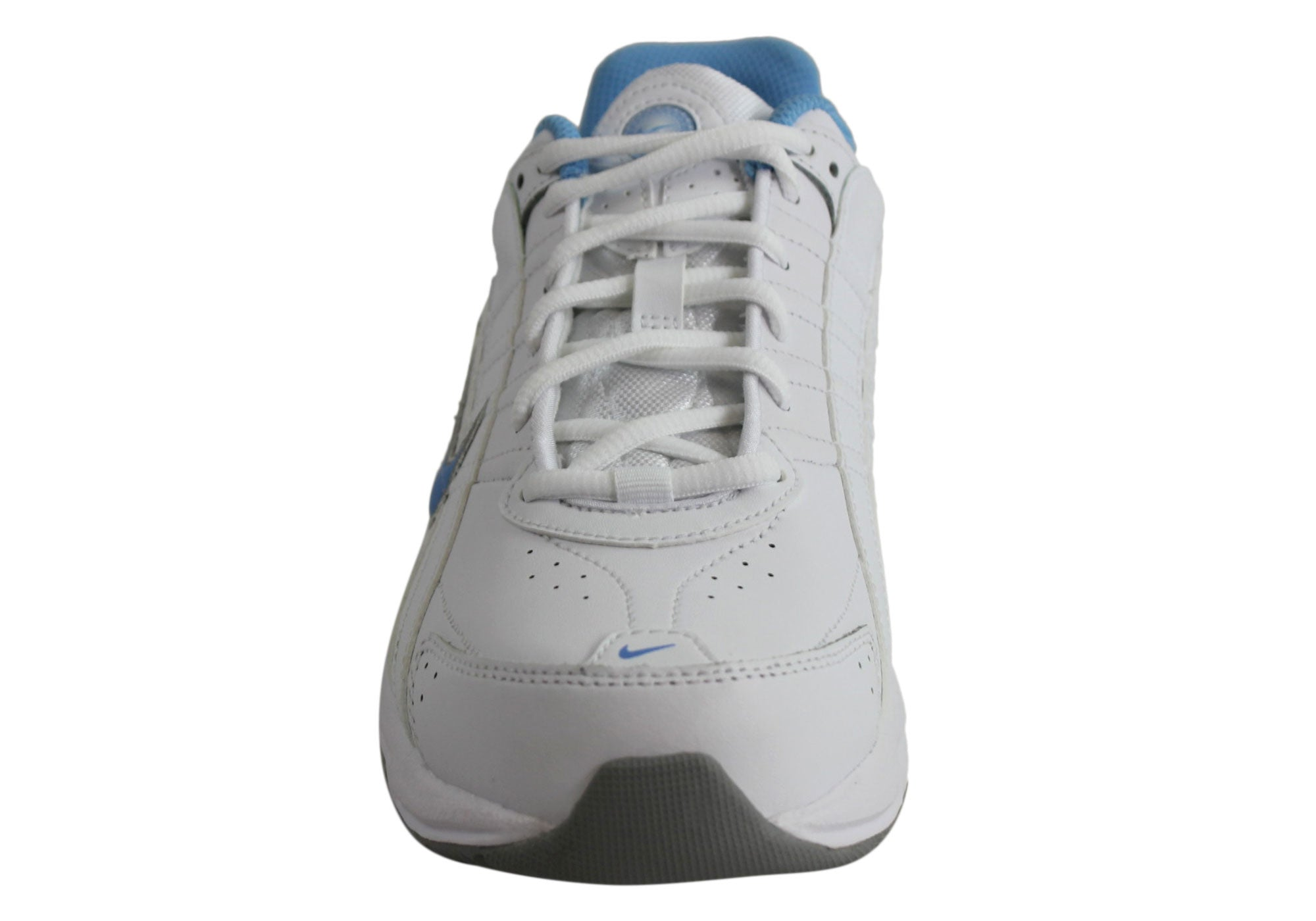 cd376bb4c266d Home Nike T-Lite VIII Leather Womens Sport Shoes. White Blue · White Blue ·  White Blue ...