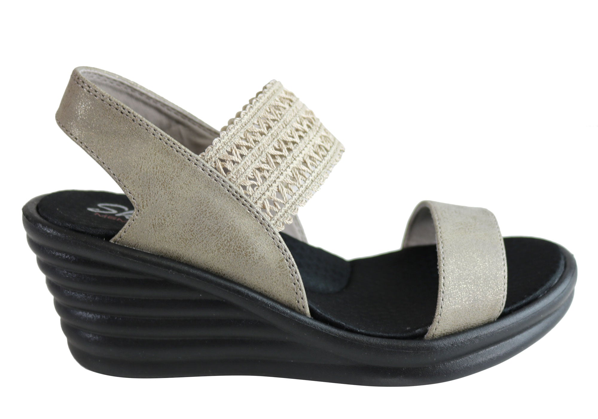 skechers memory foam wedges