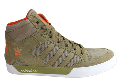 Adidas Originals Hard Court Hi Mens Hi Top Casual Sneakers Boots