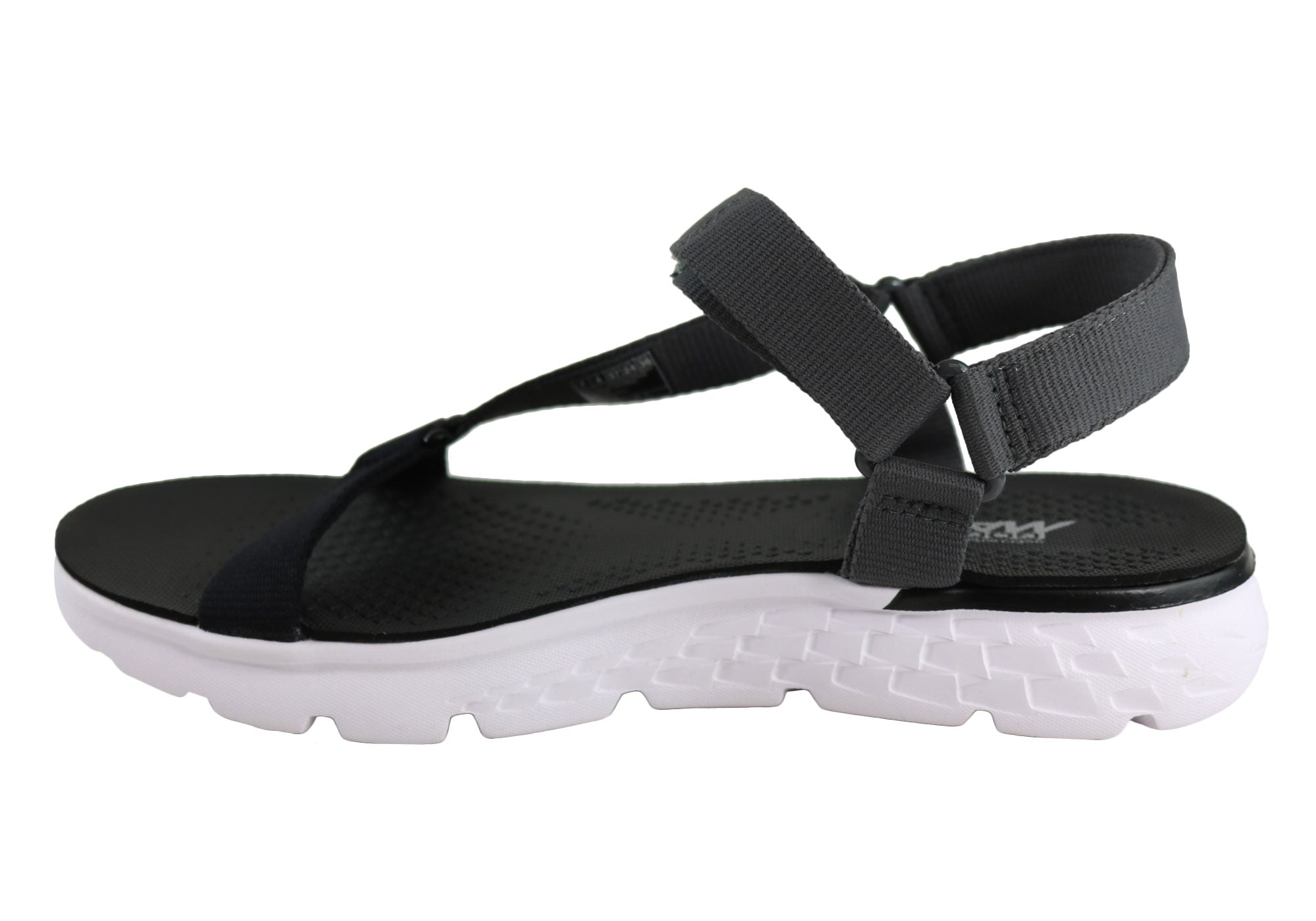 389f240d3691 Home Skechers On The Go 400 Jazzy Womens Comfort Lightweight Sandals. Black Grey  · Black Grey ...
