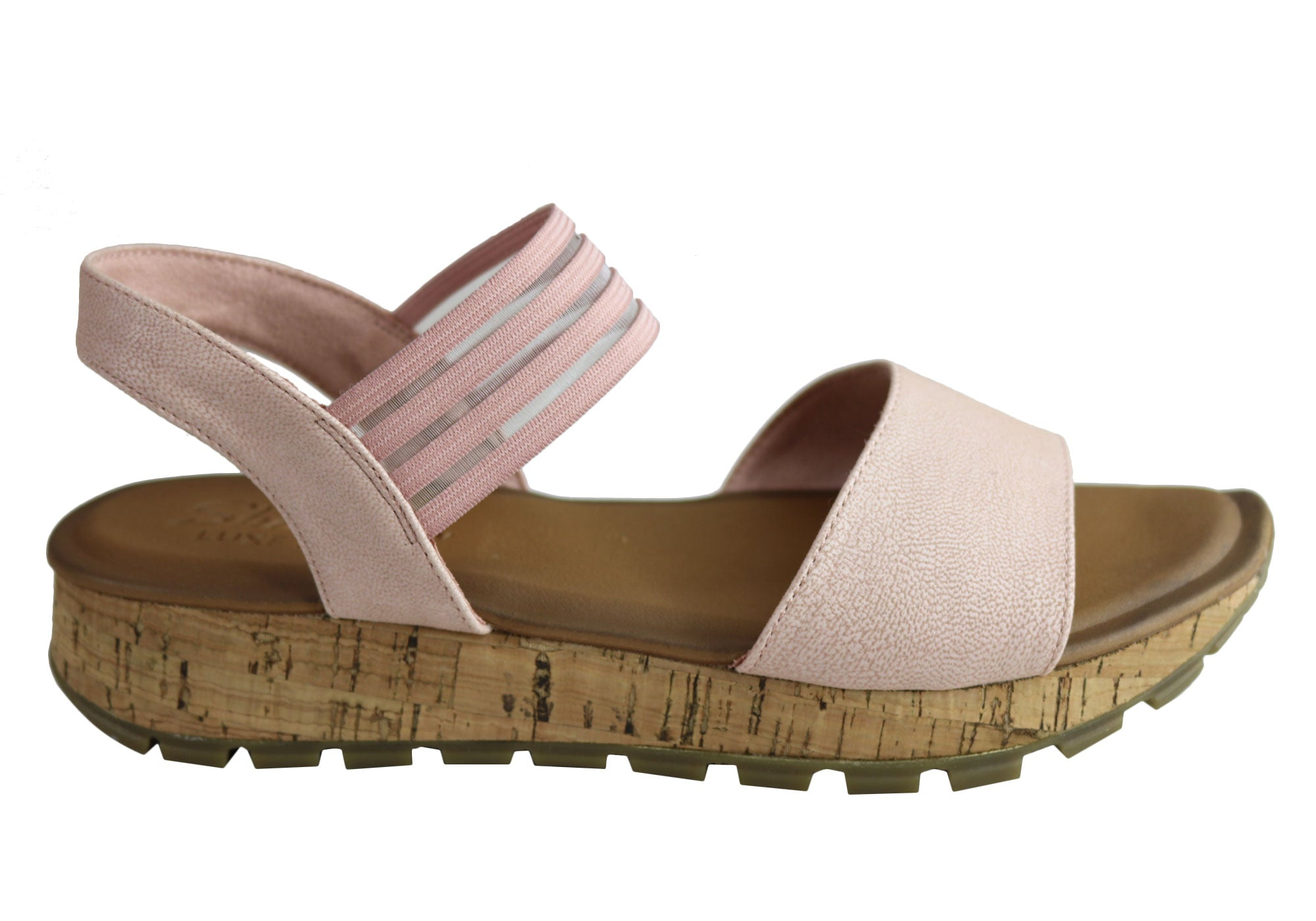 NEW SKECHERS Donna FOOTBED FOOTSTEPS MARKERS LUXE FOAM FOOTBED Donna COMFORT SANDALS 427f31