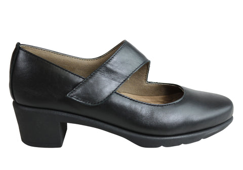 Flex & Go Volume Womens Comfortable Low Heel Shoes Made In Portugal