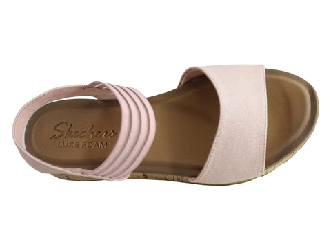a3e6b782c447 Skechers Womens Footsteps Markers Luxe Foam Footbed Comfort Sandals ...