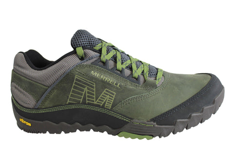 Merrell Annex Mens Leather Lace Up Casual Shoes