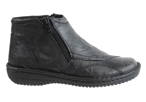 Cabello Comfort Womens Leather Boots Made In Turkey