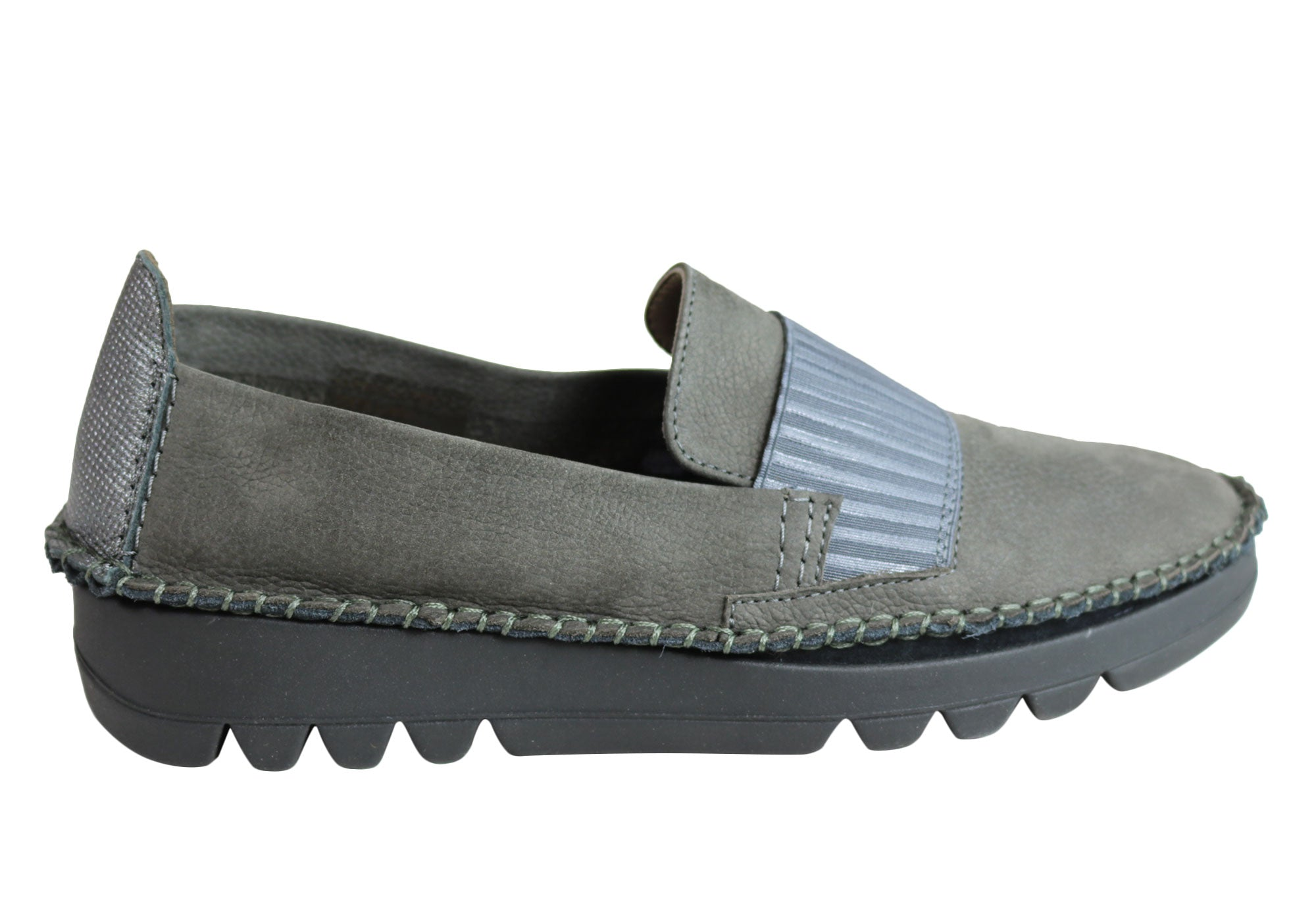 New Flex & Go Ruby Ruby Go Donna Comfort Flexible Pelle Flats Made In Portugal bd7838