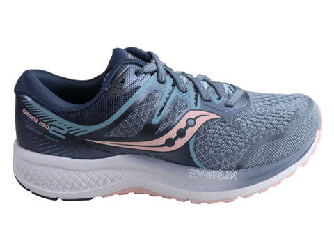 Saucony Womens Omni ISO 2 Comfortable Wide Fit Athletic Shoes