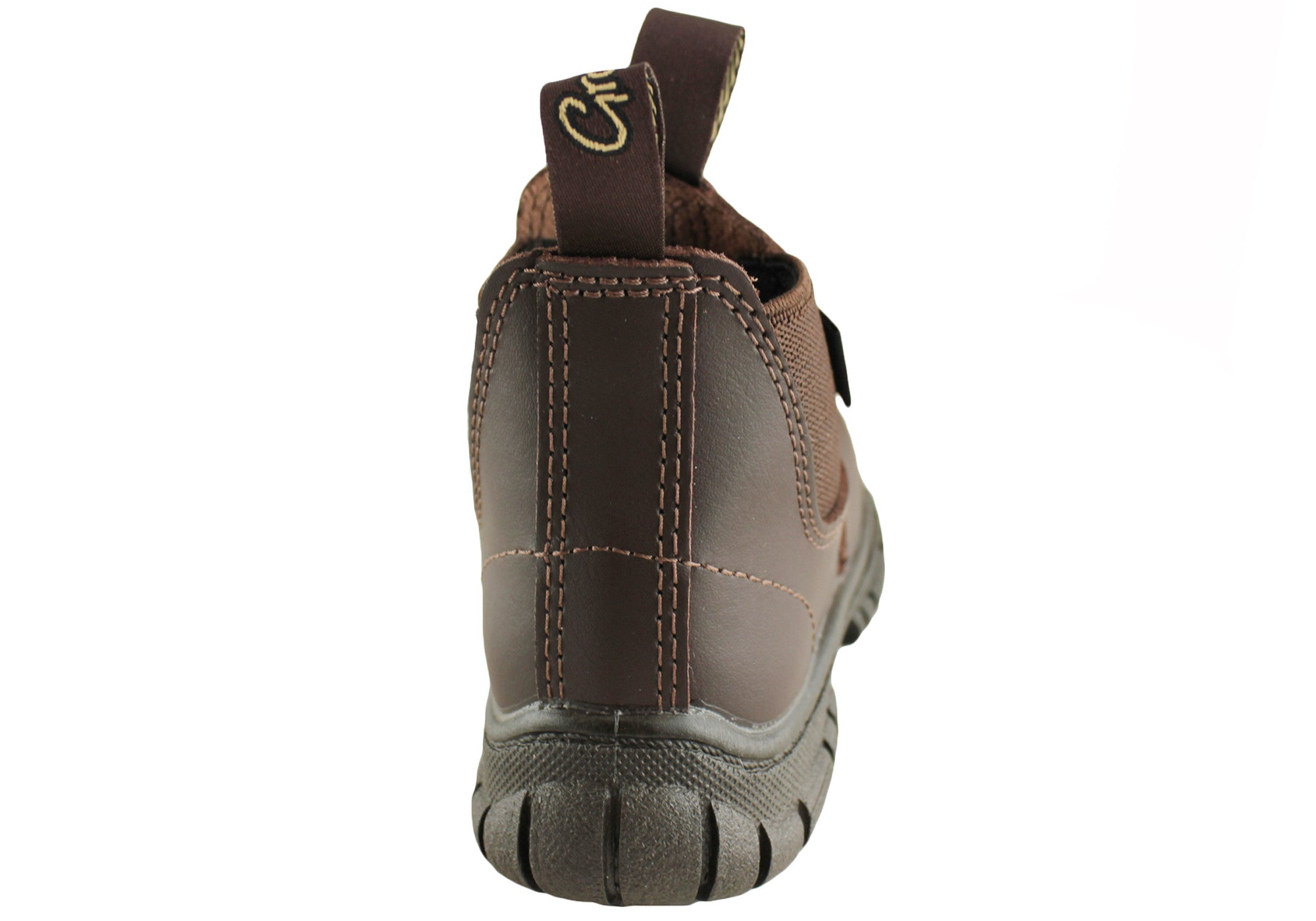 Grosby Ranch Kids Leather Pull On Boots