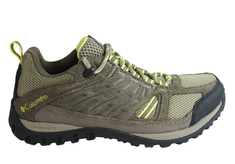 Columbia Womens Access Point Waterproof Durable Comfort Hiking Shoes