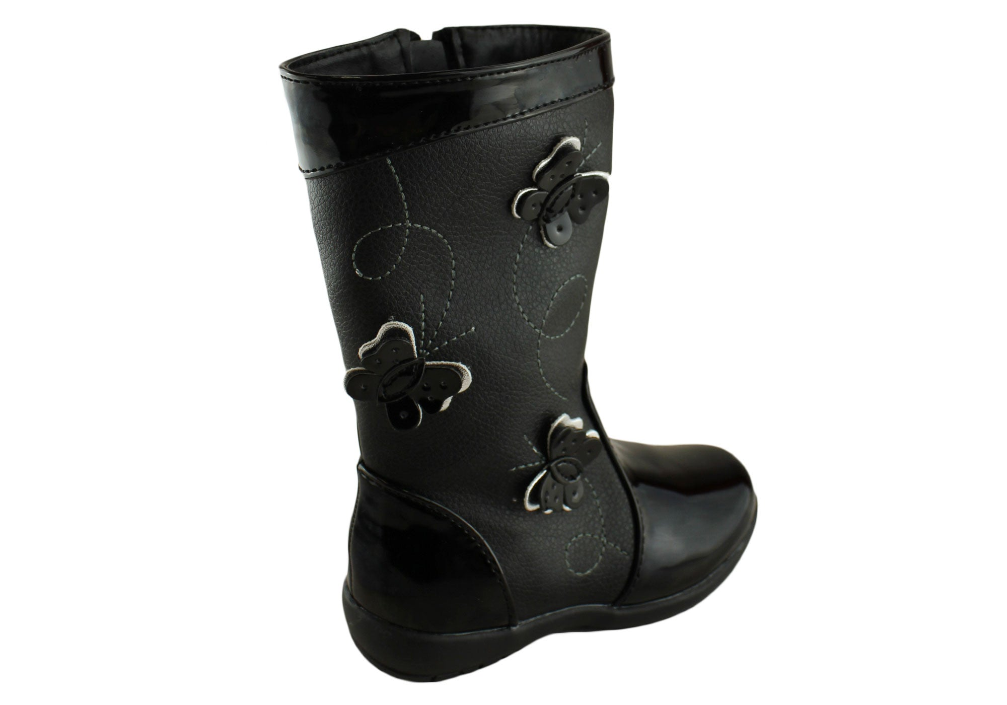 Grosby Mikayla Kids Mid Calf Boots