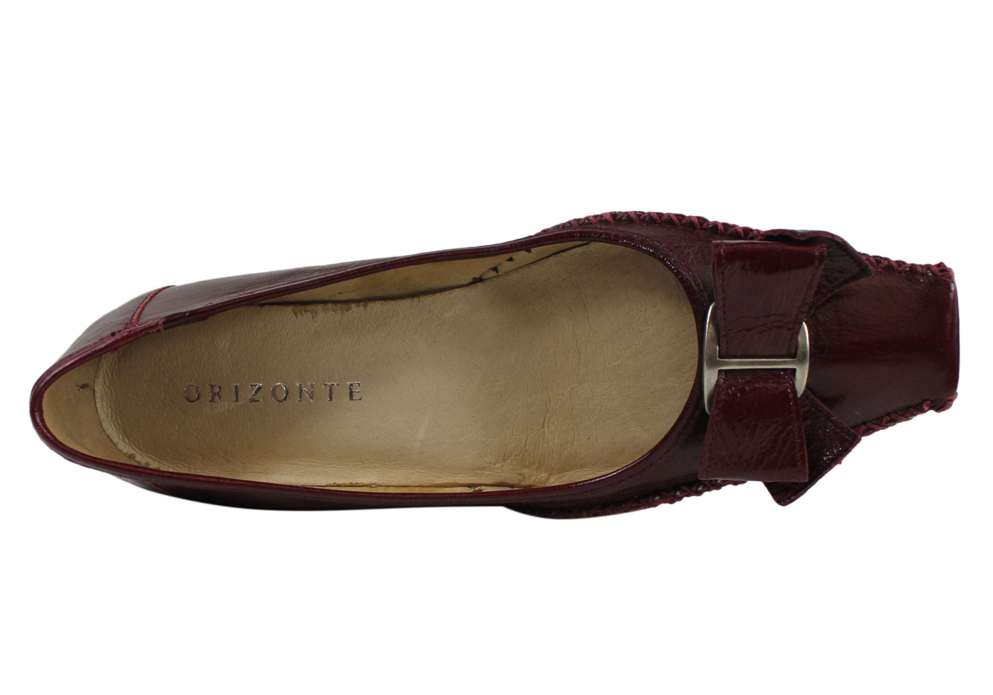 Orizonte Baroness Womens Leather Flats
