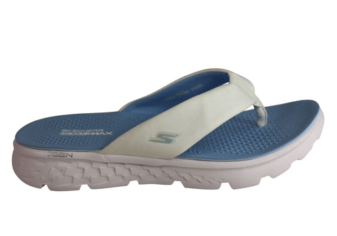 Skechers On The Go 400 Essence Womens Comfortable Flat Thong Sandals