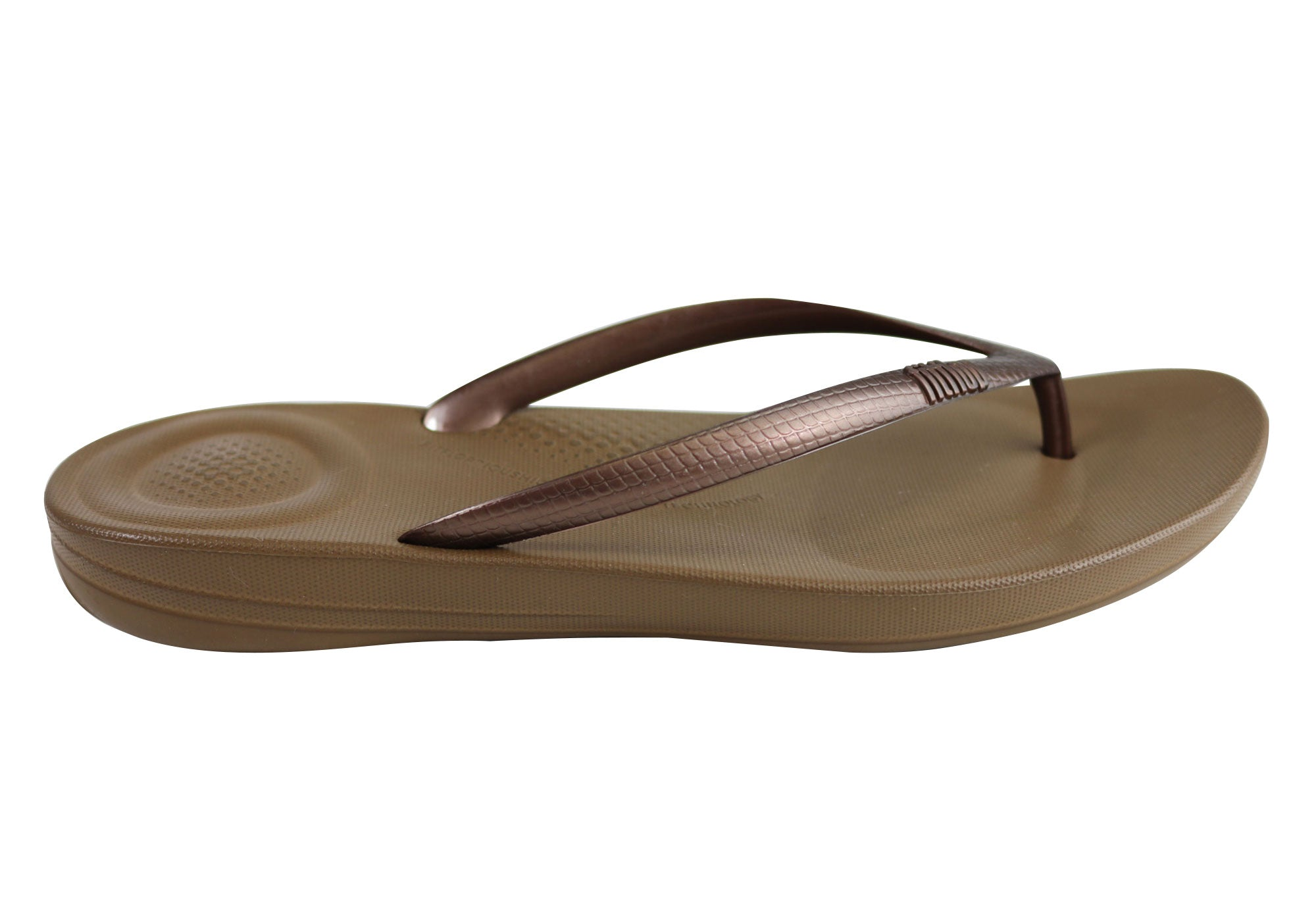 dfcb6bf41049 Home Fitflop Womens Comfort Iquishion Ergonomic Flip Flops Thongs Sandals.  Bronze · Black · Navy · Pewter ...