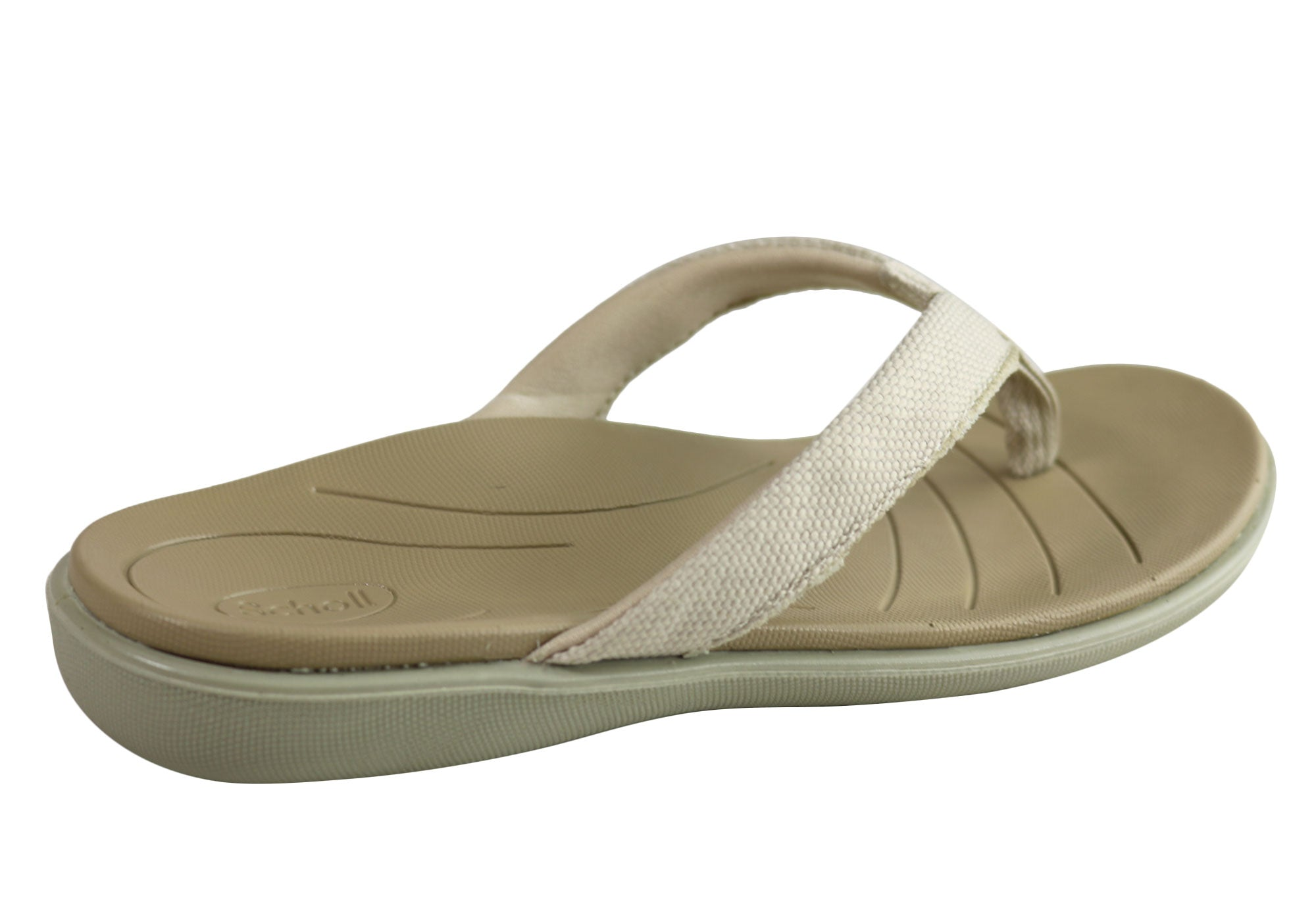Scholl Orthaheel Pacific Womens Comfortable Supportive Thongs Sandals