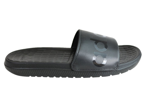 Adidas Mens Comfortable Voloomix  Cushioned Sports Slides Sandals