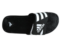 Adidas Mens Comfortable Adissage Sports Sandals With Massage Lining