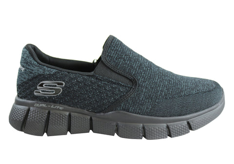 Skechers Equalizer 2.0 Mens Memory Foam Slip On Shoes