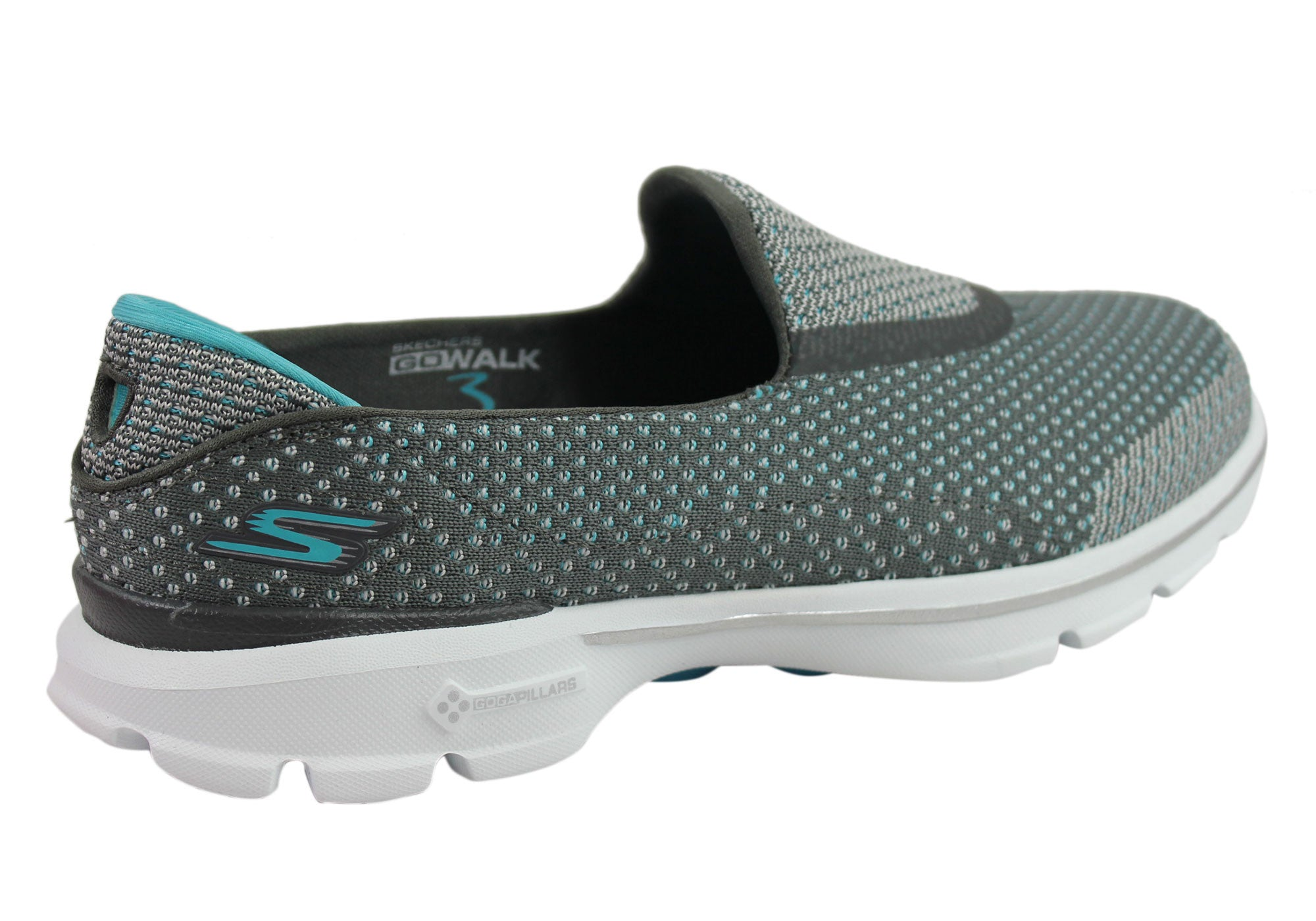 Skechers Go Walk 3 Go Knit Womens Comfort Shoes