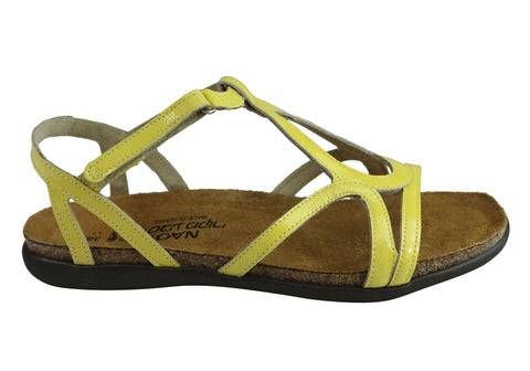 3e41f606d686 Naot Dorith Womens Comfort Cushioned Supportive Flat Leather Sandals ...