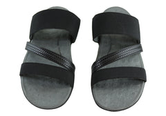 Scholl Orthaheel Matilda II Womens Comfort Slide Sandals With Support
