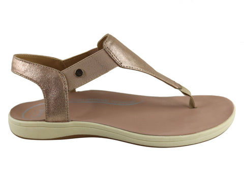 Scholl Orthaheel Krystal Womens Comfort Thong Sandals With Support