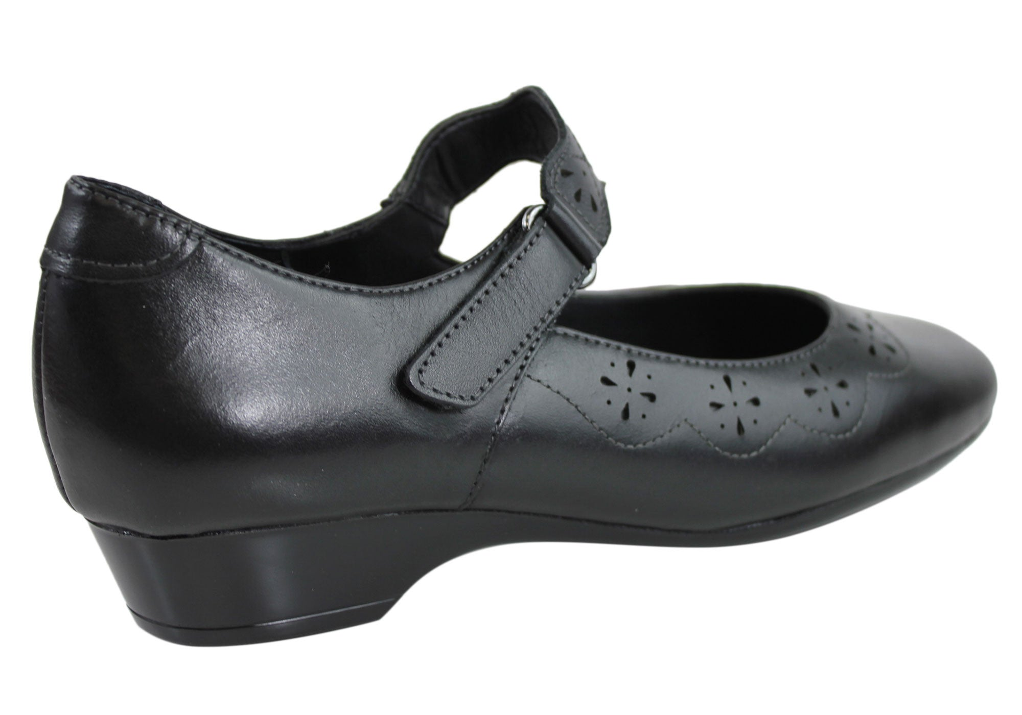 Hush Puppies Kassidy Womens Leather Mary Jane shoes