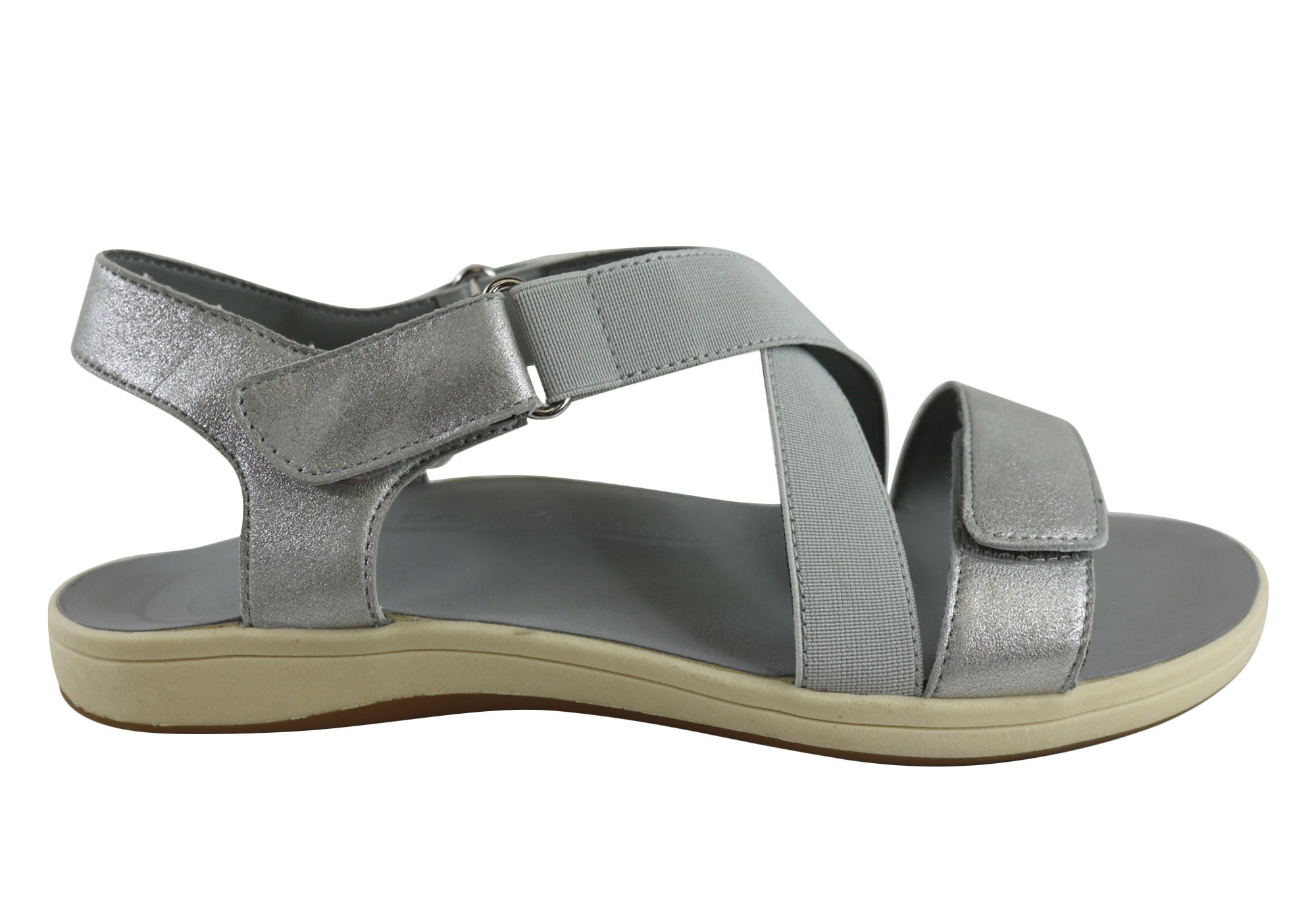 b110ed2694e5 Scholl Orthaheel Kirsten Womens Supportive Orthotic Comfort Sandals ...