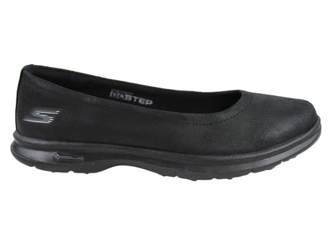 Skechers Go Step Distinguished Womens Comfortable Cushioned Flat Shoes