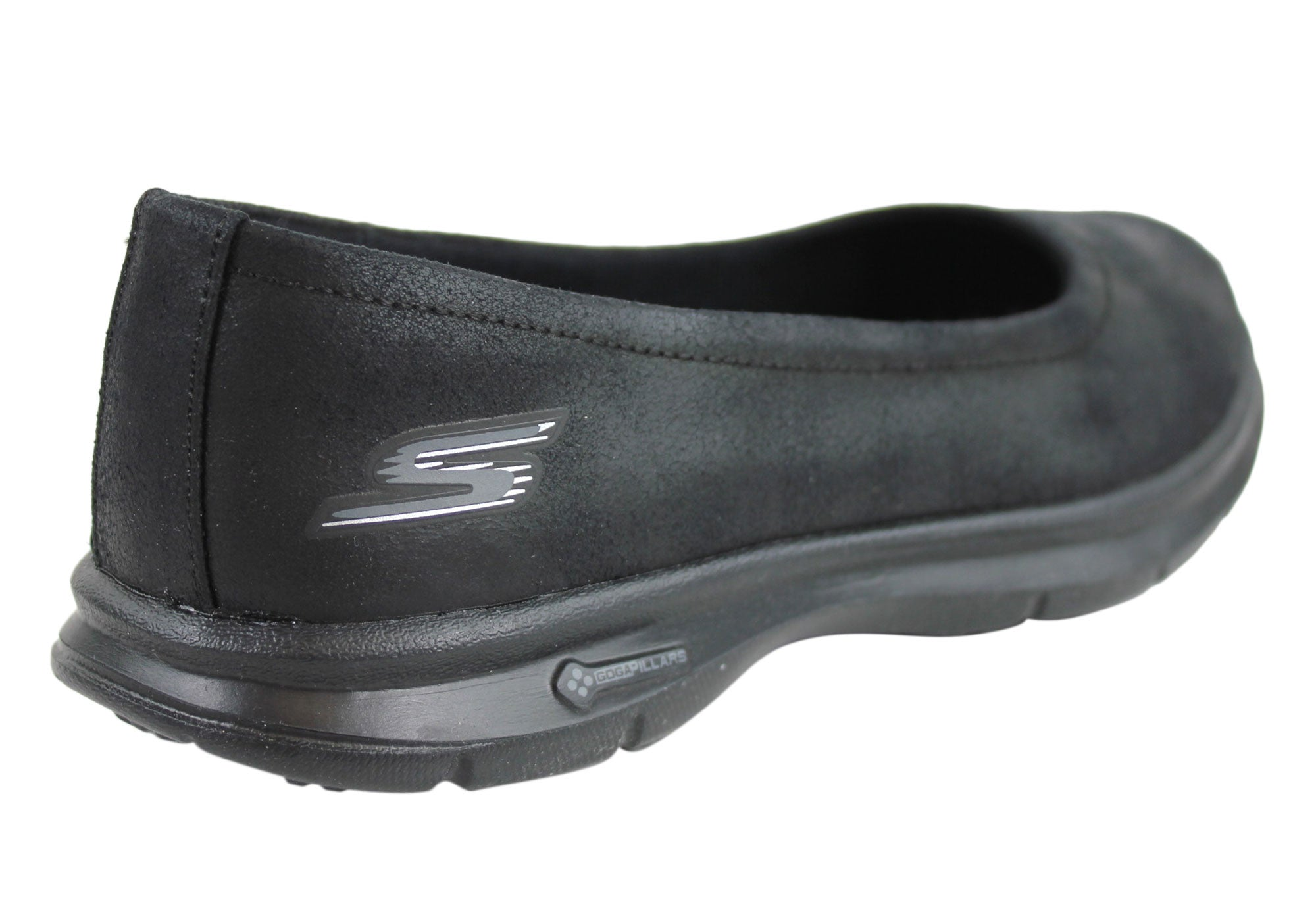 ladies leather skechers