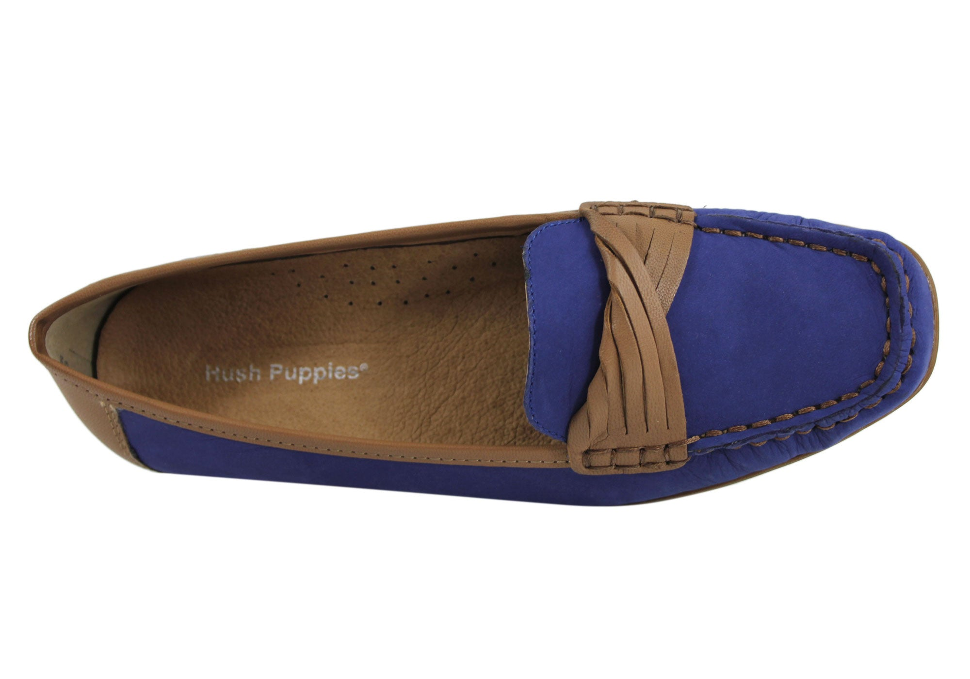 Hush Puppies Urchin Womens Leather Loafers