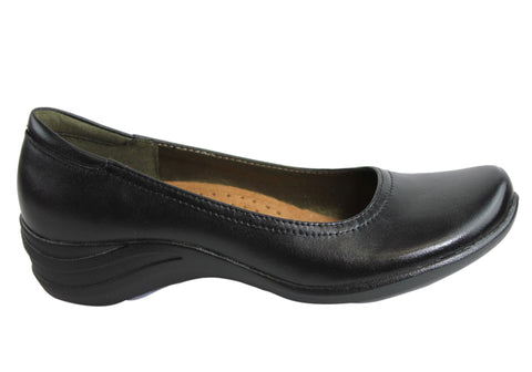 Hush Puppies Alter Pump Womens Leather Shoes