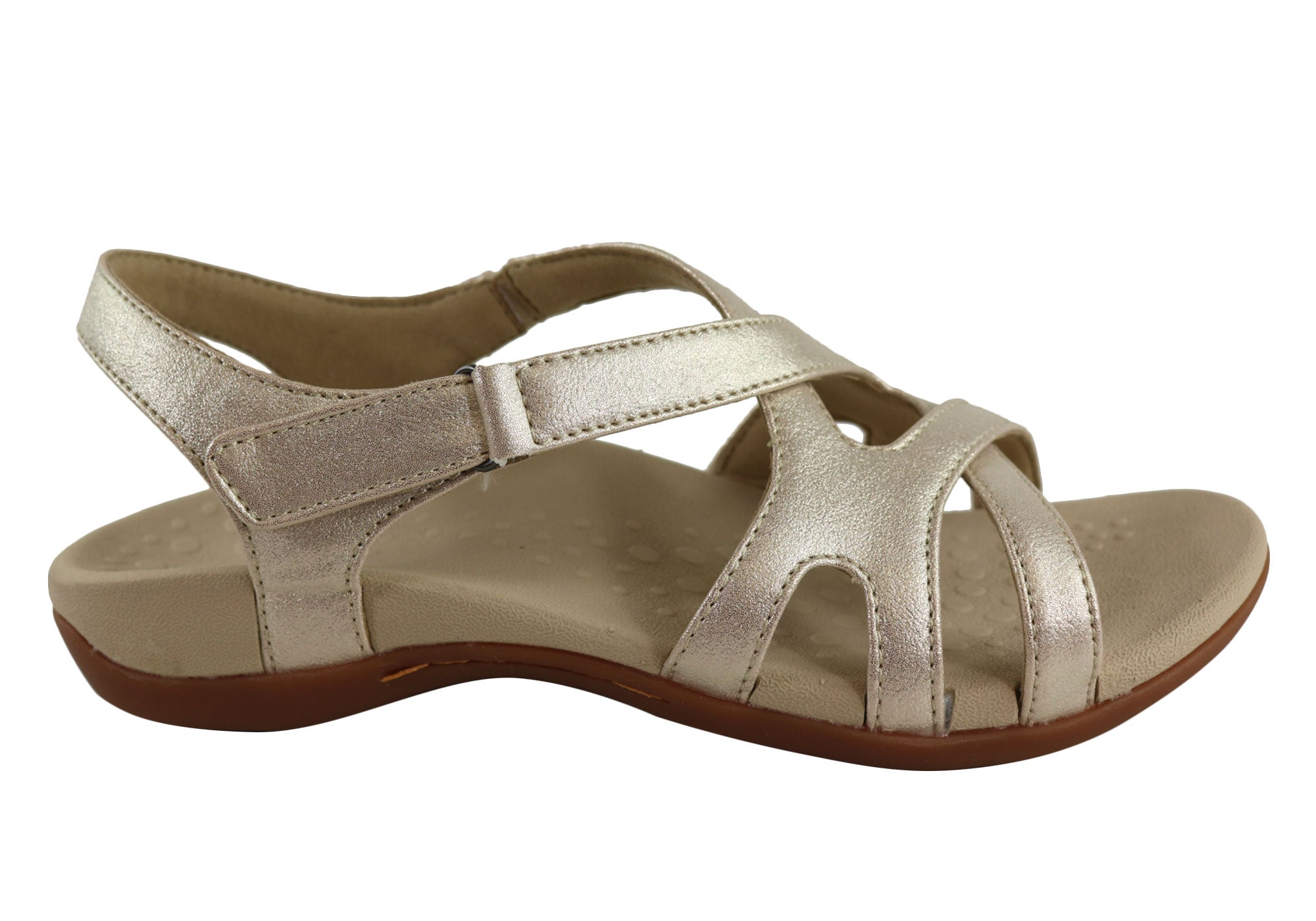 NEW-SCHOLL-ORTHAHEEL-AMY-WOMENS-SUPPORTIVE-ORTHOTIC-COMFORT-FLAT-SANDALS