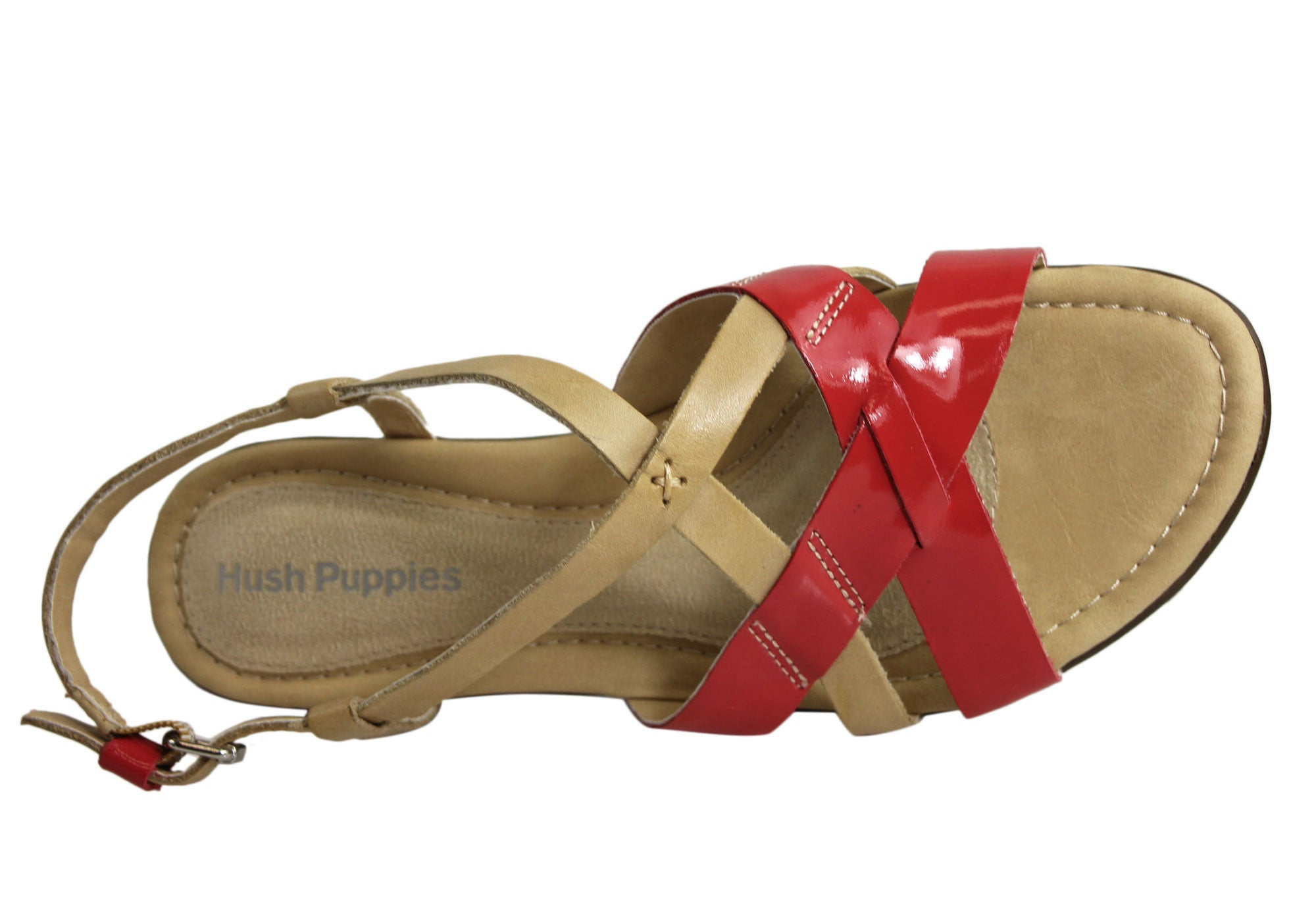 Hush Puppies Nishi X Band Womens Leather Sandals