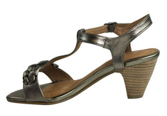 Hush Puppies Obscure Womens Mid Heel Sandals