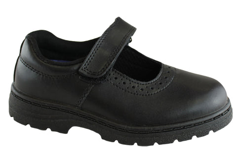 Grosby Compass Girls School Shoes