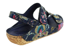 Cabello Comfort 2080 Womens Leather Comfort Sandals Handmade In Turkey