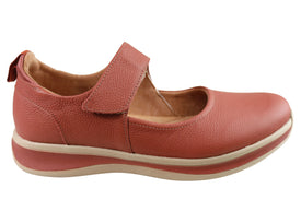 Usaflex Raelynn Womens Comfortable Leather Shoes Made In Brazil