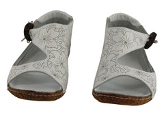 Cabello Comfort 2029 Womens Leather Comfort Sandals Made In Turkey