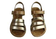 Andacco Aprili Womens Comfortable Flat Leather Sandals Made In Brazil