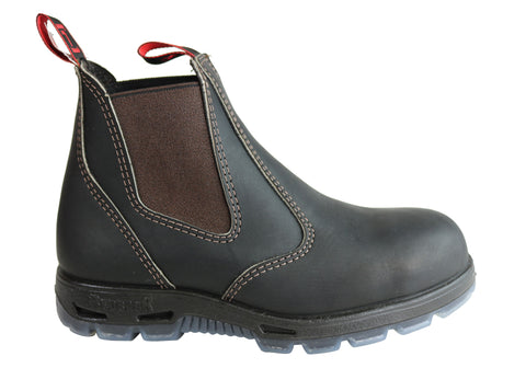 Redback Mens Bobcat Safety Toe Steel Cap Usbok Leather Work Boots
