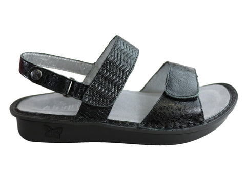 Verona Braided Black The Official Site of Alegria Shoes