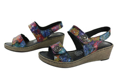 Cabello Comfort 5986-60 Womens Leather Comfort Sandals Made In Turkey