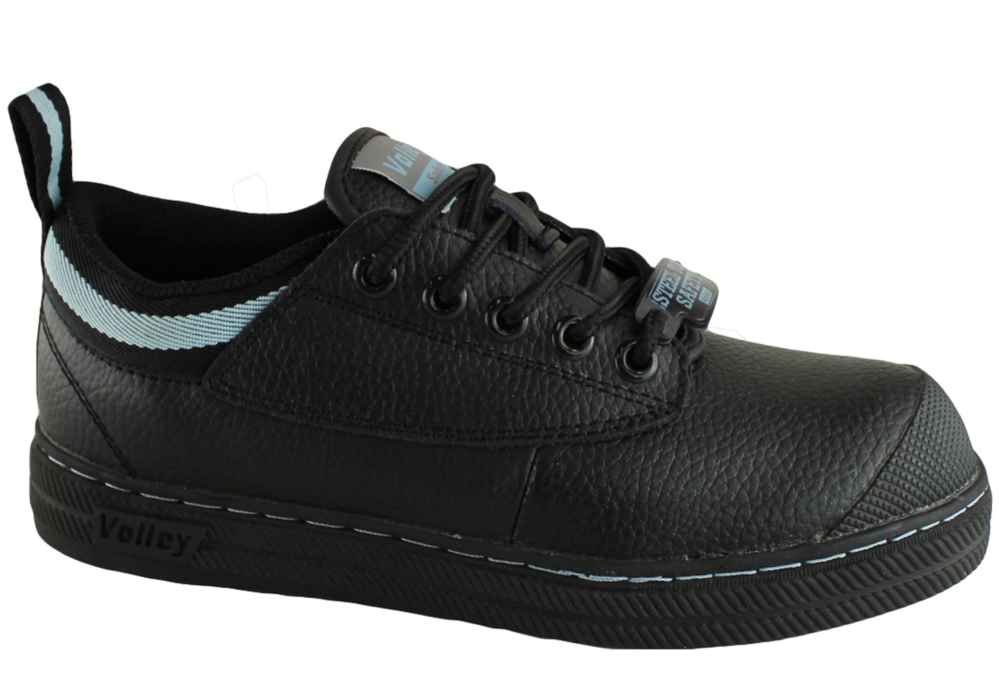 Dunlop Volley Safety Womens Steel Toe Leather Shoes | Brand House Direct